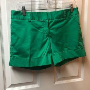 Green Express shorts with 2 pockets